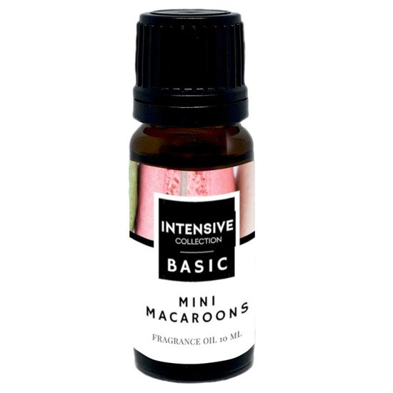 Intensive Collection Amber Basic fragrance oil in natural glass bottle 10 ml - Mini Macaroons