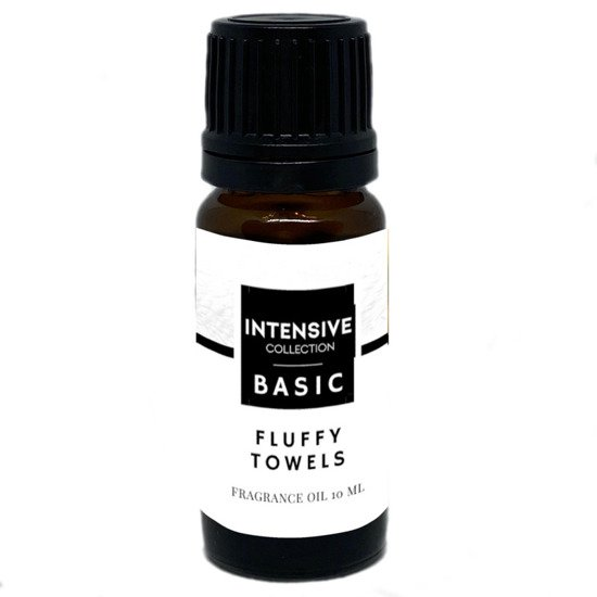 Intensive Collection Amber Basic olejek zapachowy w naturalnym szkle 10 ml - Fluffy Towels